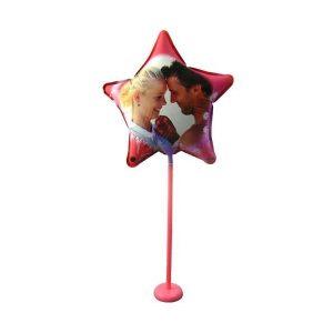 Baloane foto stea personalizate