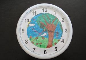 ceas personalizat rotund
