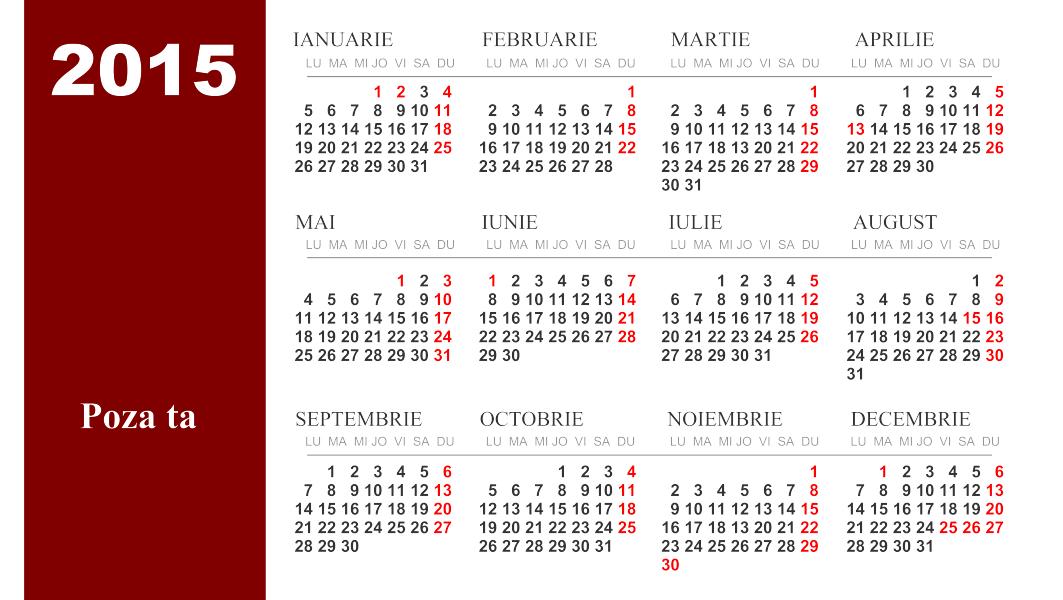... 600 jpeg 325kB, Calendar 2015 Cu Calendar Romanesc 2015 Cu Sarbatorile