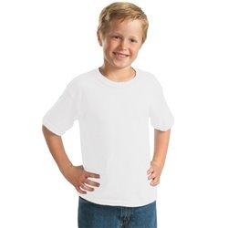 Tricouri personalizate albe bumbac copii