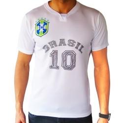 Tricouri personalizate albe poliester atletic