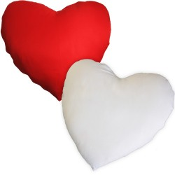 Perna personalizata alb cu rosu inima