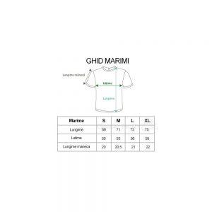 Tricouri personalizate albe bumbac