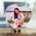 Piatra ardezie personalizata inima