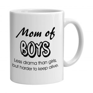 Cana personalizata Moms of Boys