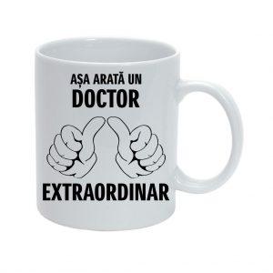 Cana personalizata Asa arata un Doctor