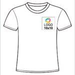Tricouri personalizate albe cu logo firma
